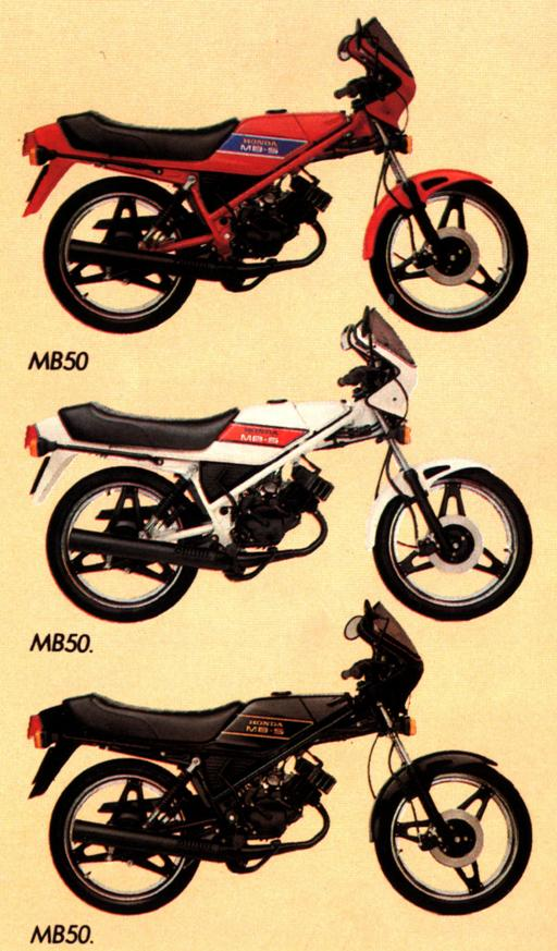 In the UK the MB5 was available in three colours. Black was the most ...
