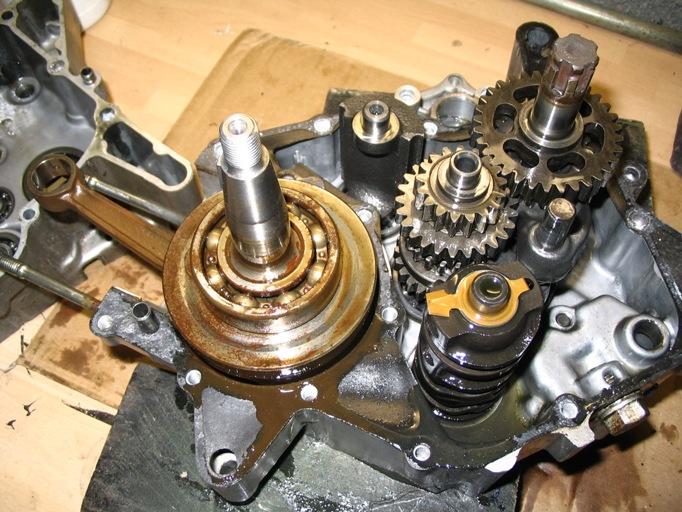 H100 Engine Rebuild - UK Honda MB5 Web Site